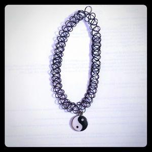 Jewelry - Yin and Yang Choker Necklace
